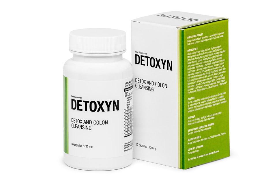 Detoxyn - opinie - skład - cena - gdzie kupić
