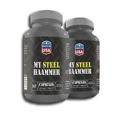My Steel Hammer kapsułki - opinie - składniki - cena - gdzie kupić?